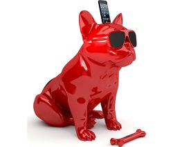JARRE Aerobull HD Wireless Speaker Dock - Red