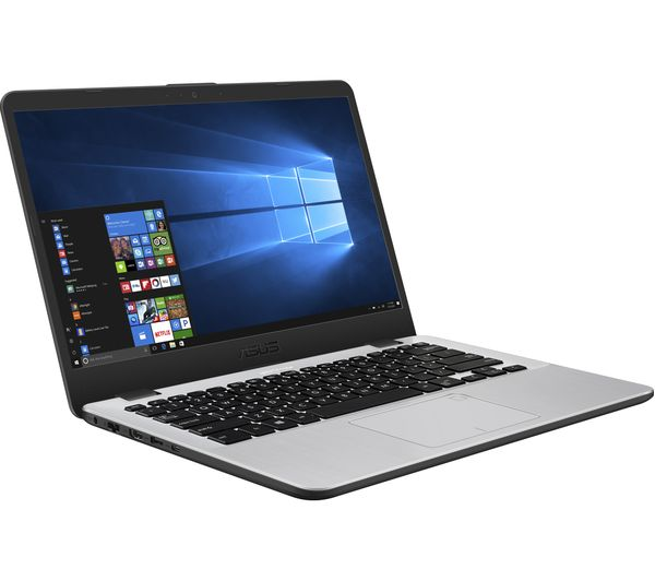 buy asus vivobook x405 14 intel core i3 laptop 128 gb ssd grey free delivery currys. Black Bedroom Furniture Sets. Home Design Ideas