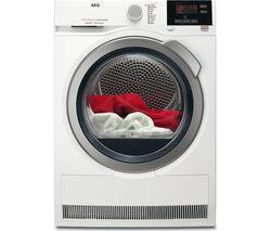 SensiDry T7DBG832R Heat Pump Tumble Dryer - White