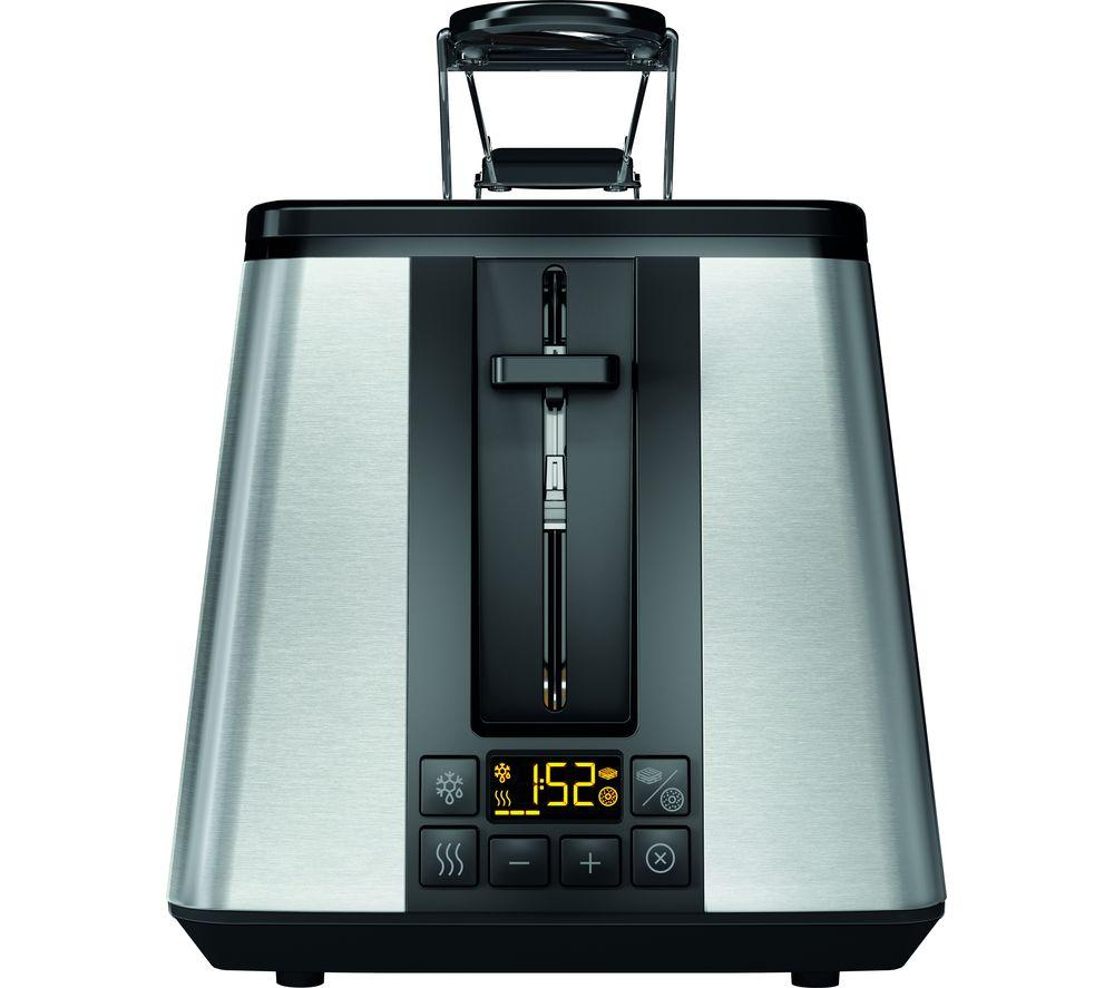HOTPOINT TT 22E UM0 2-Slice Toaster - Silver
