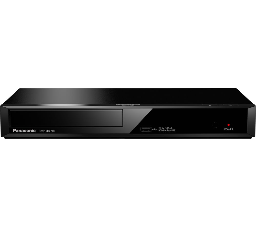 PANASONIC DMP-UB390EB Smart 4K Ultra HD Blu-ray Player - with 4K Ultra HD Upscaling