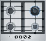 BOSCH PCH6A5B90 Gas Hob - Stainless Steel