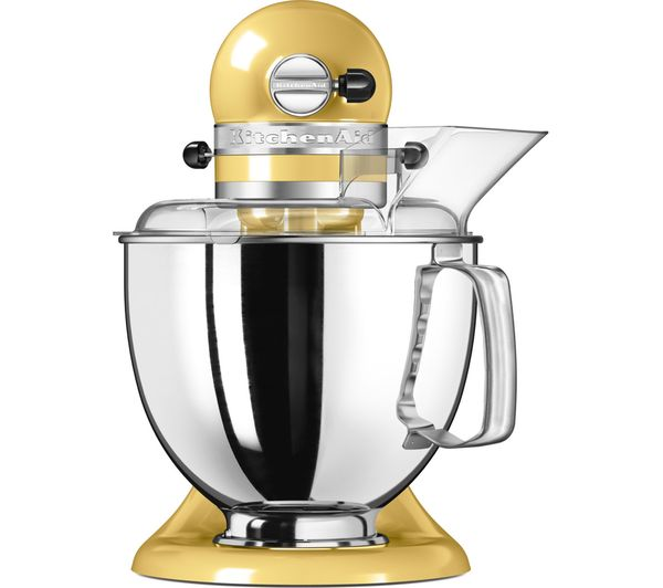 Kitchenaid Artisan Stand Mixer Majestic Yellow on kitchenaid mixer 6-quart pro 600, kitchenaid mixer aqua sky, kitchenaid mixer accessories, kitchenaid long slot toaster, kitchenaid by hobart,