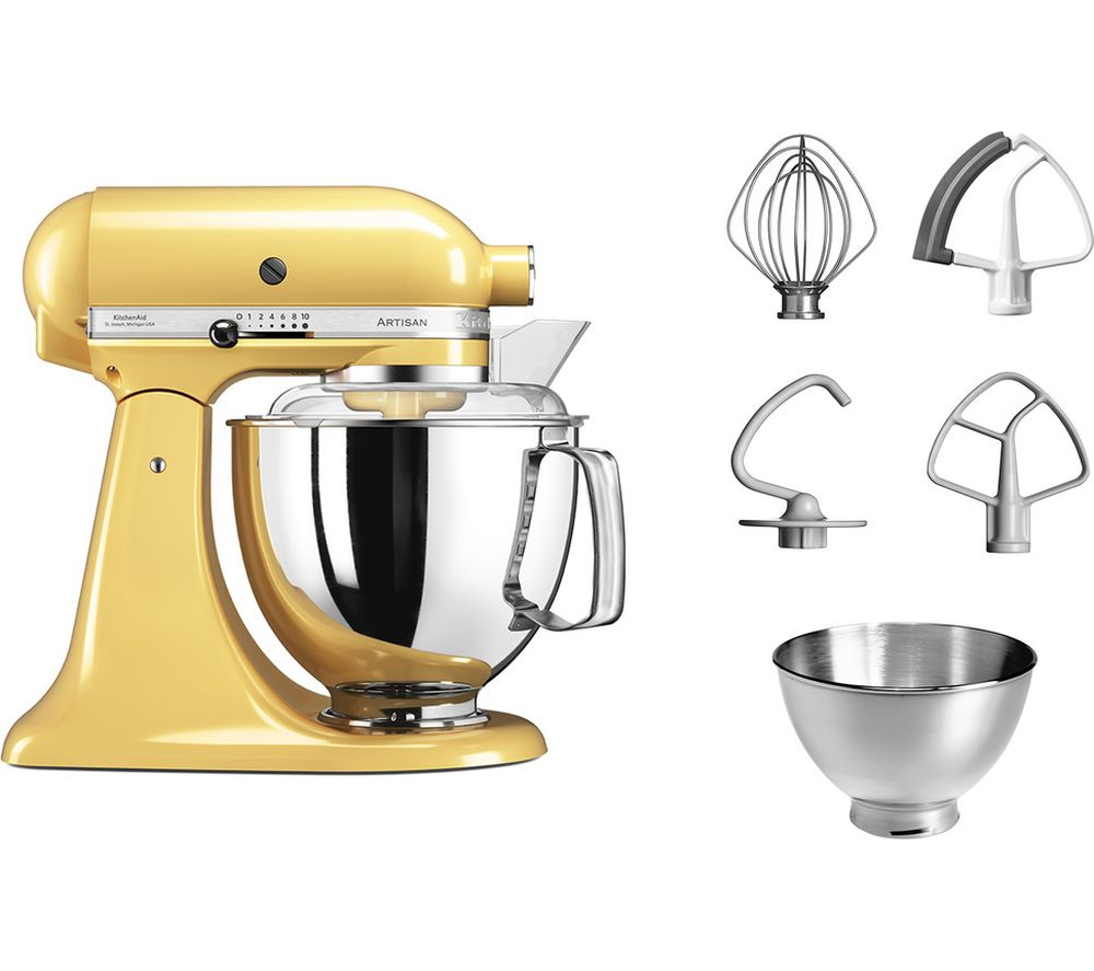 KITCHENAID Artisan 5KSM175PSBMY Stand Mixer - Majestic Yellow