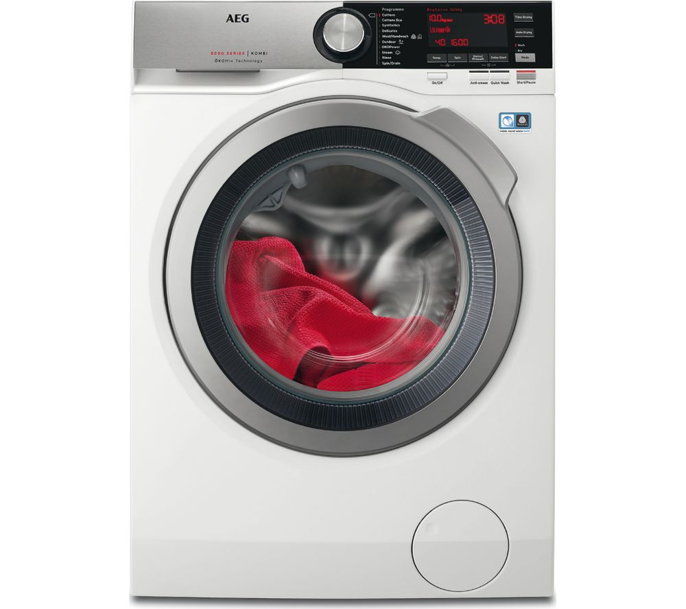 Compare retail prices of Aeg 8000 Series L8WEC166R 10 kg Washer Dryer to get the best deal online