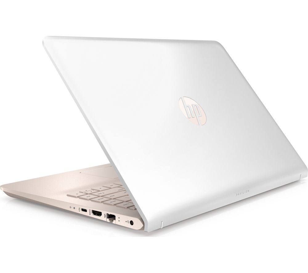 "HP Pavilion 14-bk069sa 14"" Intel® Pentium® Gold Laptop - 1 TB HDD, White & Rose Gold + Office 365 Personal - 1 year for 1 user"