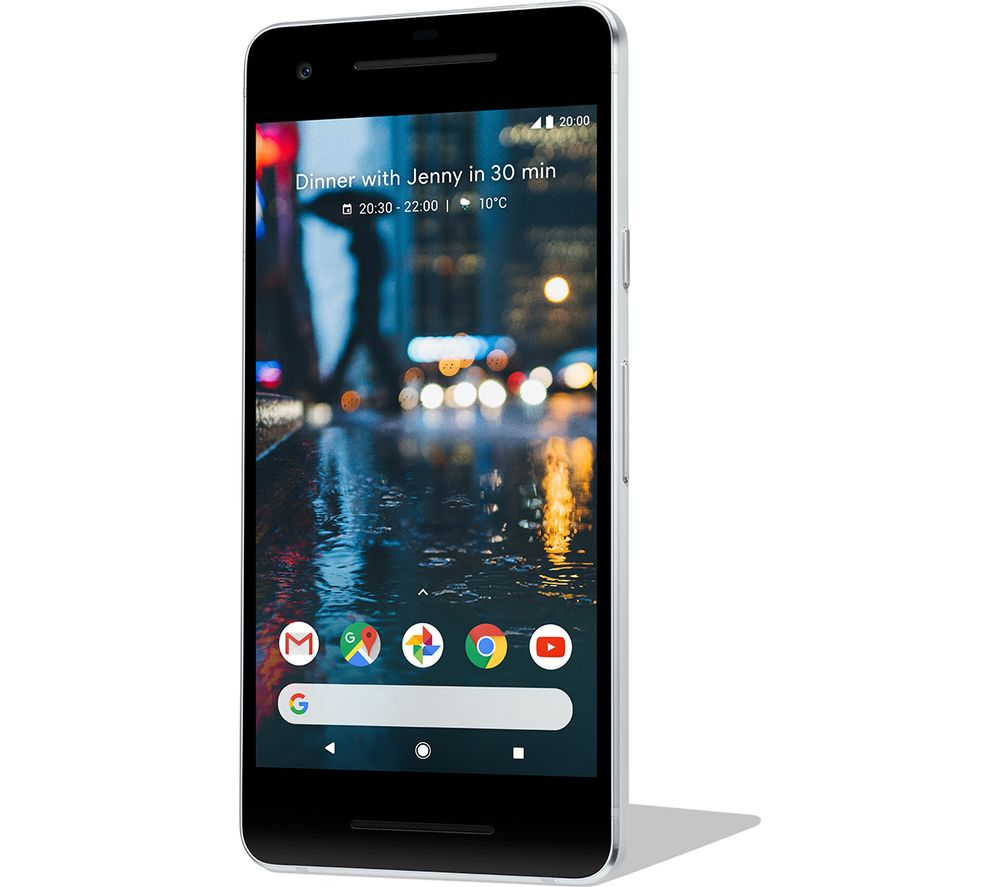GOOGLE Pixel 2 - 64 GB, Clearly White