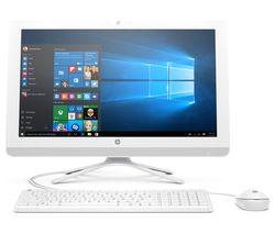 """HP 22-b004na 21.5"""" All-in-One PC - White"""