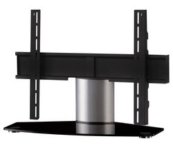 SONOROUS Plasma PL2310 B-SLV 750 mm TV Stand with Bracket - Black & Silver