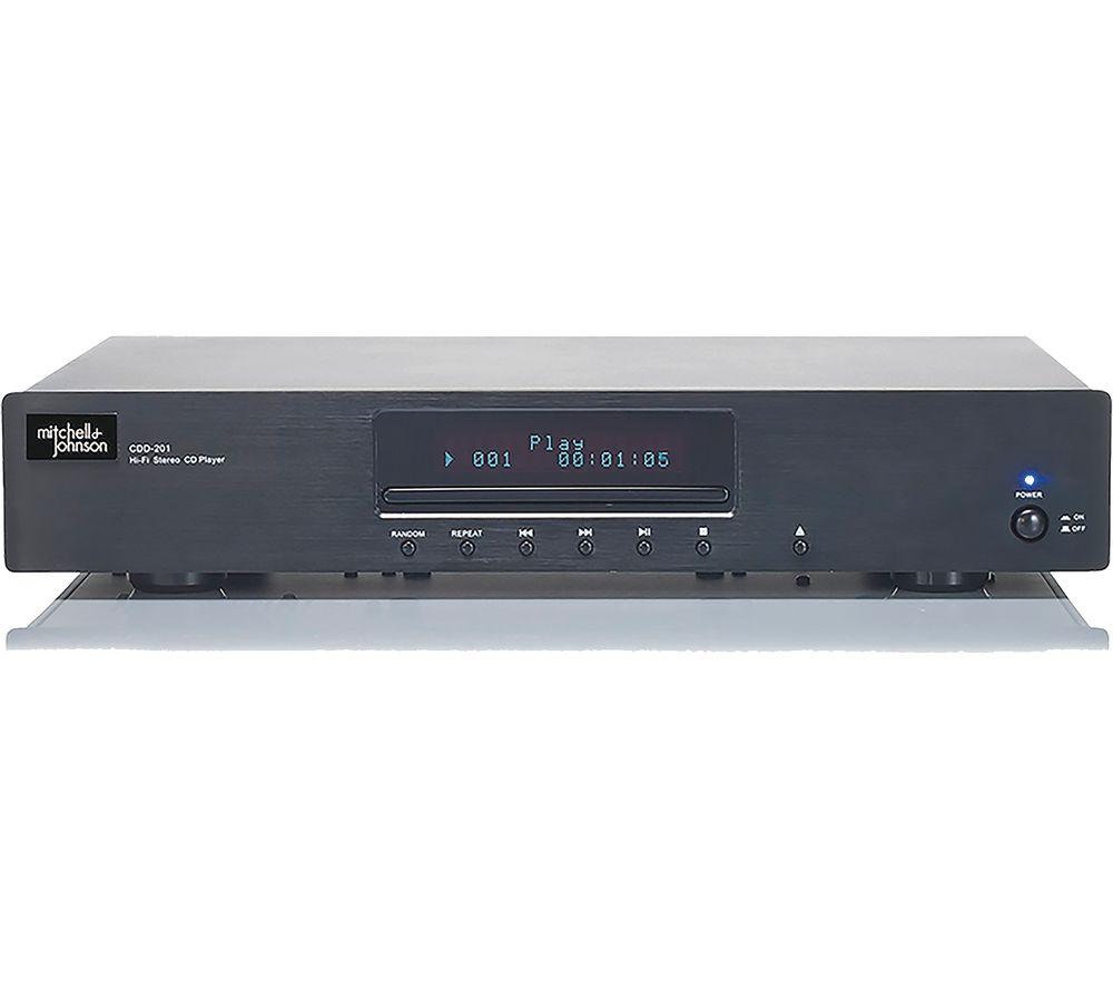 M&J CDD201 CD Player - Black