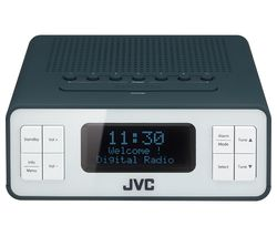 RA-D38-H DAB/FM Clock Radio - Grey