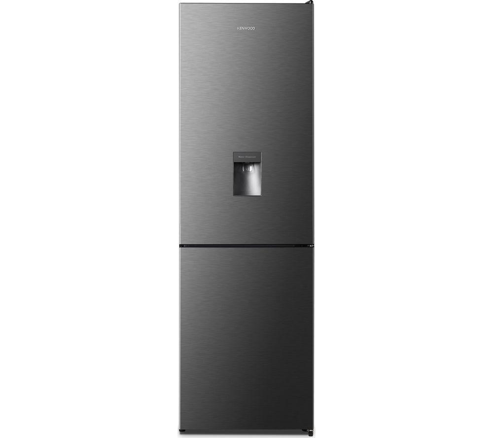 KENWOOD KNFD60T18 60/40 Fridge Freezer - Black Steel