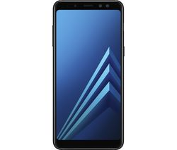 SAMSUNG Galaxy A8 - 32 GB, Black