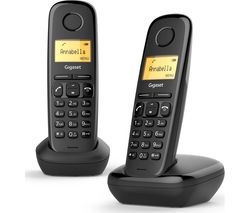GIGASET A170 Cordless Phone - Twin Handsets
