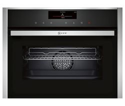NEFF C18FT56N1B Compact Electric Steam Oven – Stainless Steel