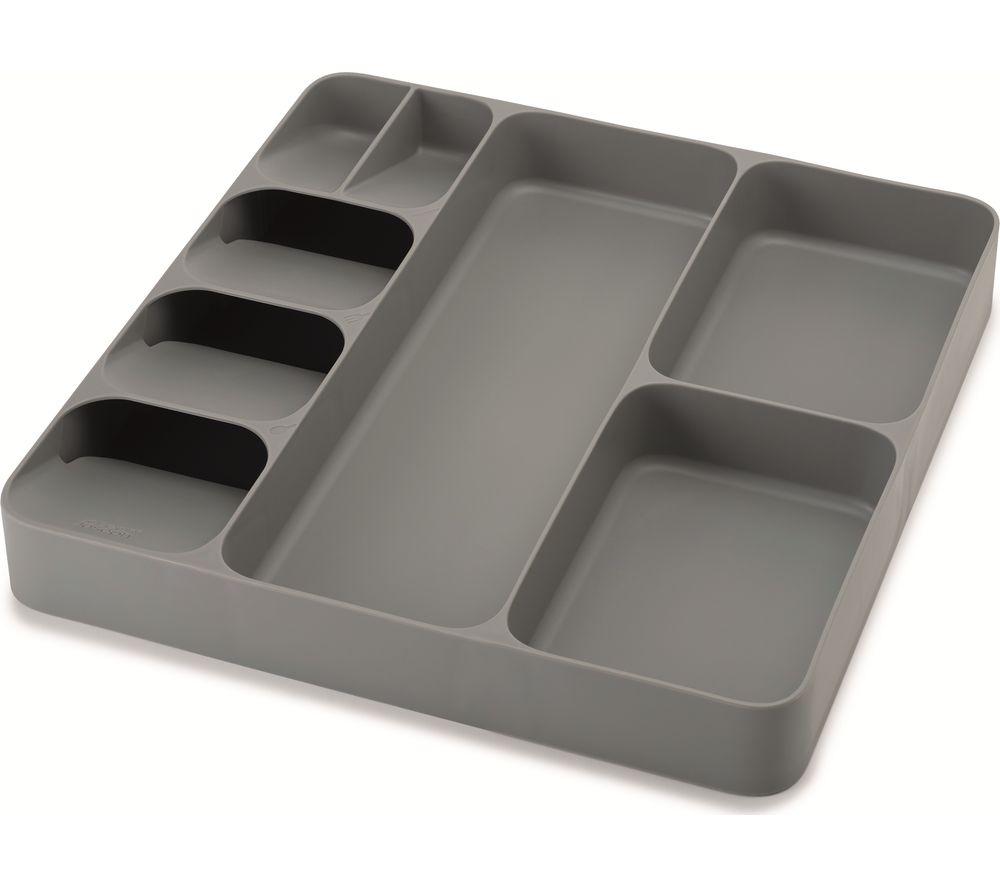JOSEPH JOSEPH DrawerStore Cutlery, Utensil & Gadget Organiser - Grey