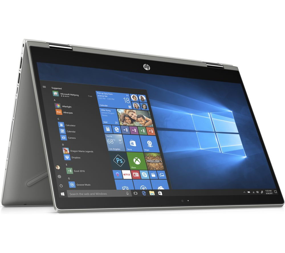 "HP Pavilion x360 14-cd0508sa 14"" Intel® Core™ i5 2 in 1 - 256 GB SSD, Silver"