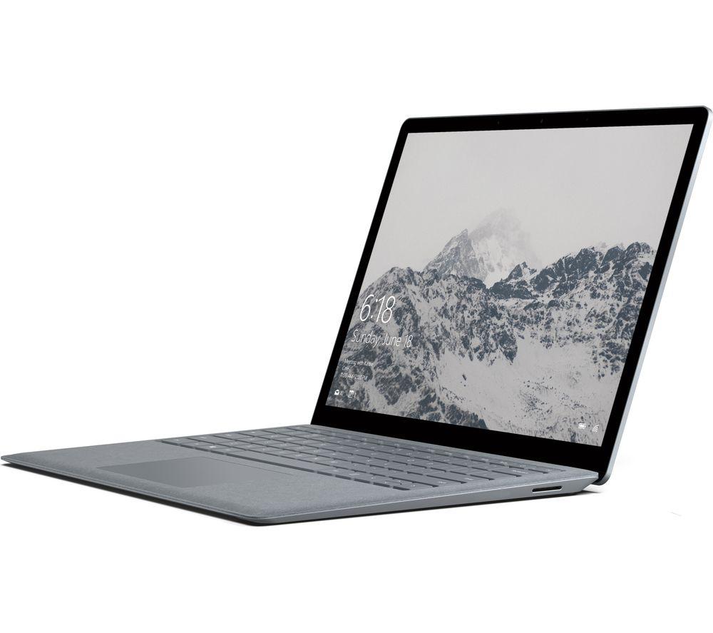 "Image of MICROSOFT 13.5"" Intel® Core™ i5 Surface Laptop - 128 GB SSD, Platinum"