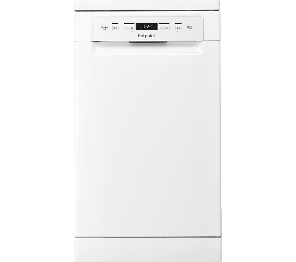 buy hotpoint hsfc 3m19 c slimline dishwasher white. Black Bedroom Furniture Sets. Home Design Ideas