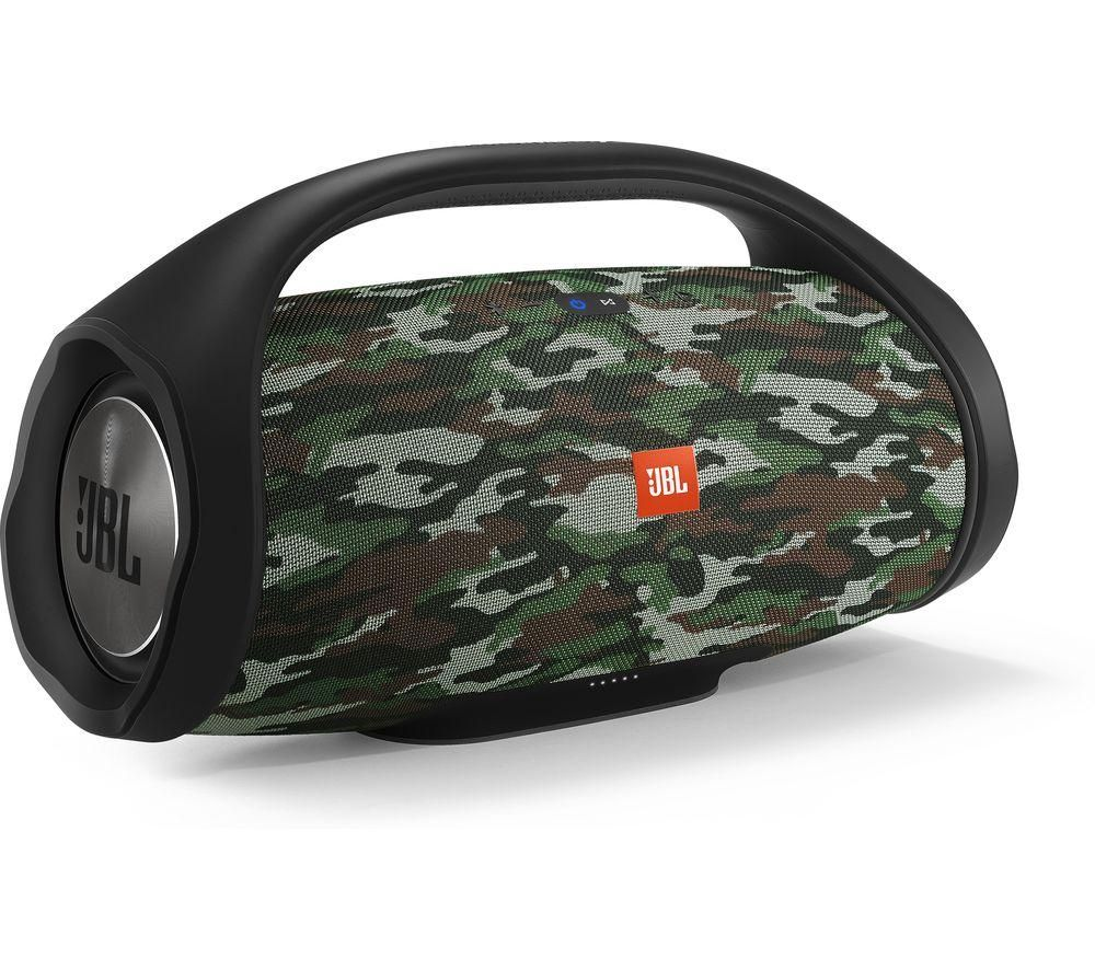 JBL Boombox Squad Portable Bluetooth Speaker - Camo