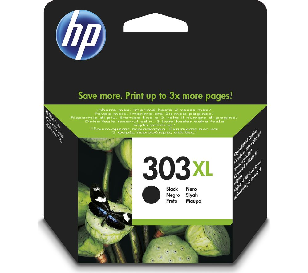 Image of 303XL Black Ink Cartridge, Black