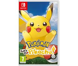 NINTENDO SWITCH Pokemon: Let's Go, Pikachu!