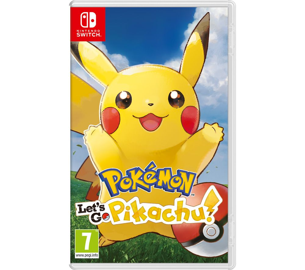 2640af938ef1b6 Buy NINTENDO SWITCH Pokemon: Let's Go, Pikachu! | Free Delivery | Currys