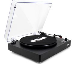 JAM Play Stream HX-TT500BWD Belt Drive Bluetooth Turntable - Black
