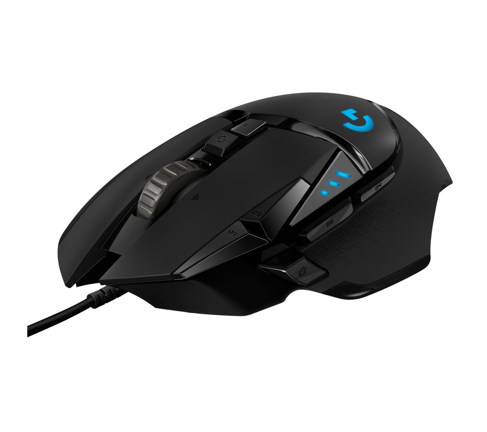 03dbccd069c Buy LOGITECH G502 Hero Optical Gaming Mouse | Free Delivery | Currys