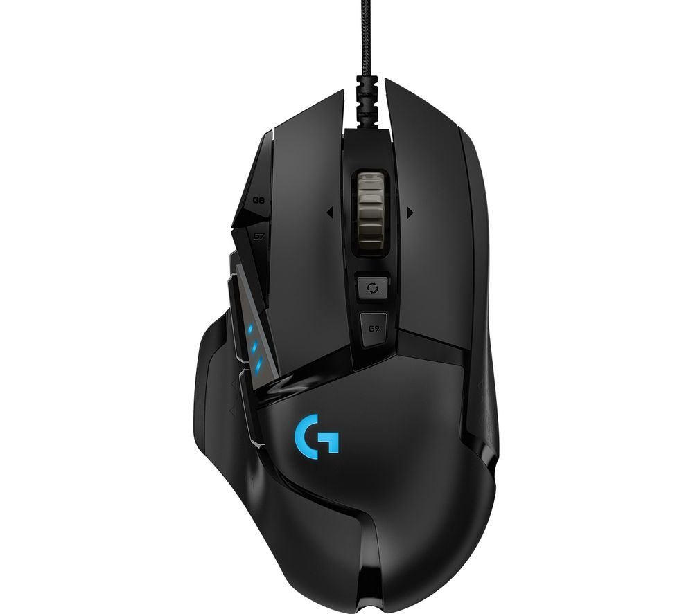 LOGITECH G502 Hero Optical Gaming Mouse