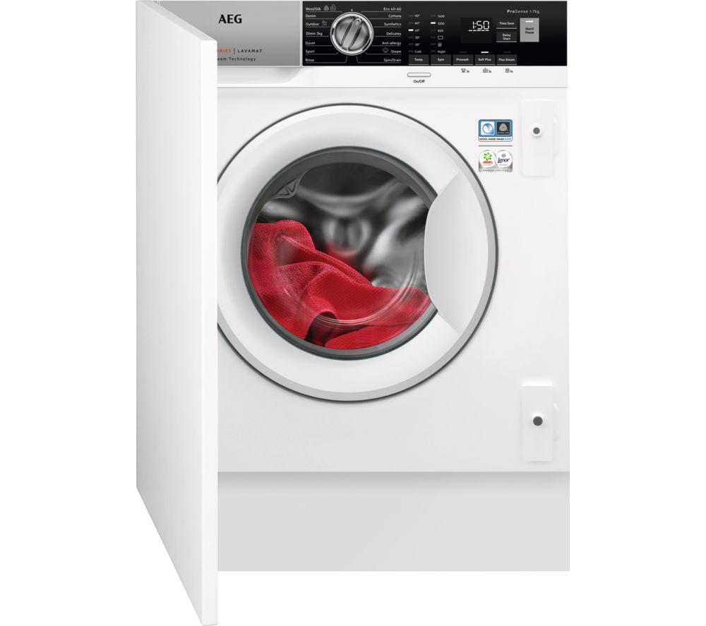 AEG 7000 Series L7FE7261BI Integrated 7 kg 1200 Spin Washing Machine