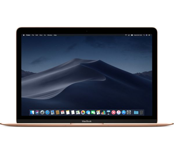 "Image of APPLE MacBook 12"" with Retina Display (2018) - 256 GB SSD, Gold"