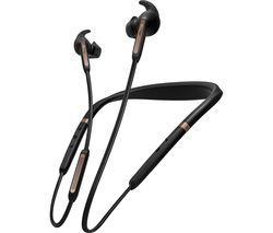 JABRA Elite 65e Wireless Bluetooth Noise-Cancelling Headphones - Copper Black