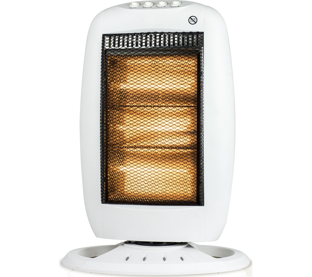STATUS Premium Portable Halogen Heater - White