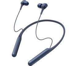 SONY WI-C600N Wireless Bluetooth Noise-Cancelling Earphones - Blue