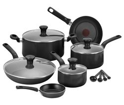 Excite B184S744 7-piece Non-stick Cookware Set - Black