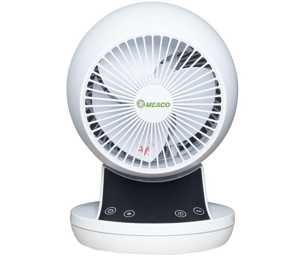 "MeacoFan 360 Air Circulator Portable 6"" Desk Fan - White"