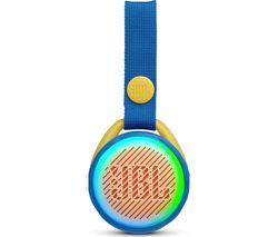 JBL JR POP Portable Bluetooth Speaker - Blue