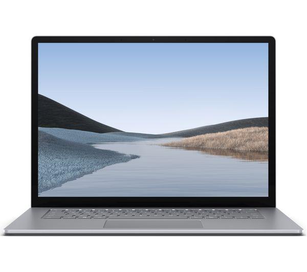 "Image of MICROSOFT 15"" Surface Laptop 3 - AMD Ryzen 5, 128 GB SSD, Platinum"