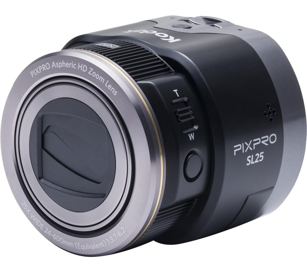 Click to view product details and reviews for Kodak Pixpro Sl25 Smart Lens Camera Black Black.