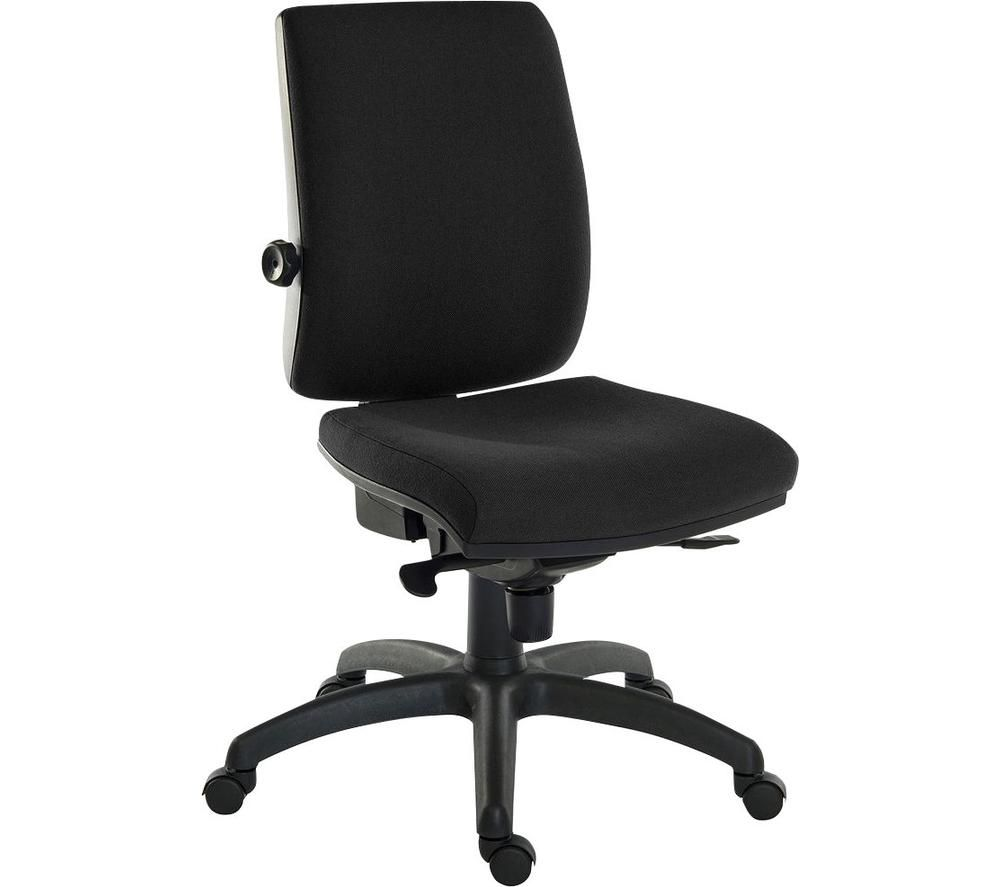 TEKNIK Ergo Plus Fabric Executive Chair - Black