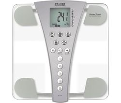 InnerScan BC-543 Electronic Bathroom Scales - Grey & Transparent