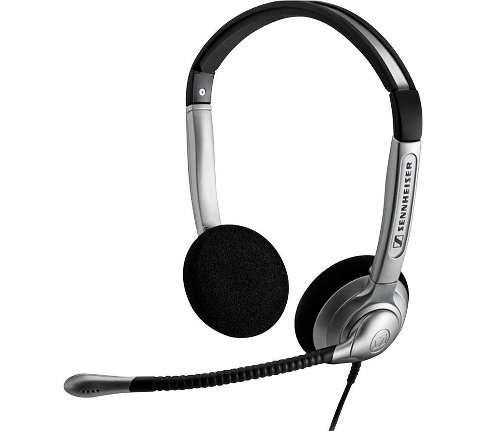Image of SENNHEISER SH 350 Headset - Silver, Silver