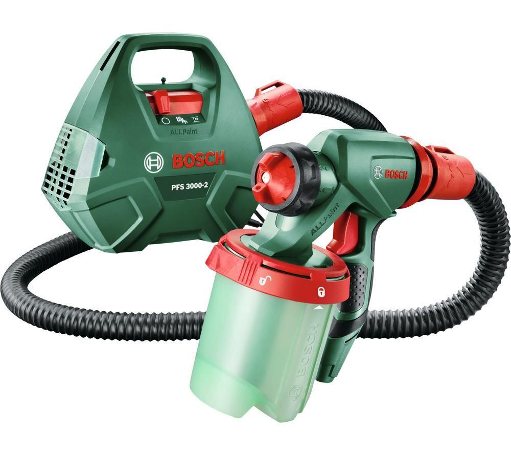 BOSCH PFS 3000-2 Paint Spray System - Green & Red