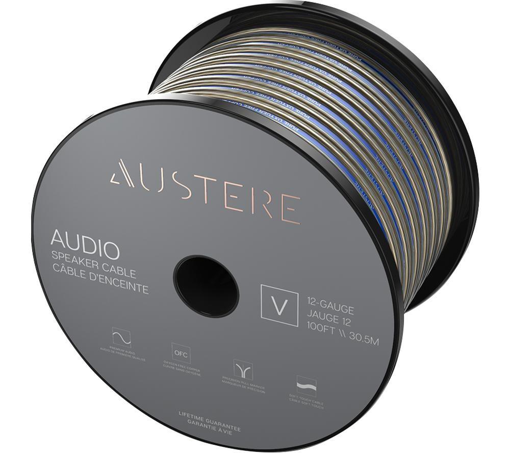 AUSTERE V Series 14 Gauge Bulk Speaker Cable - 30.5 m