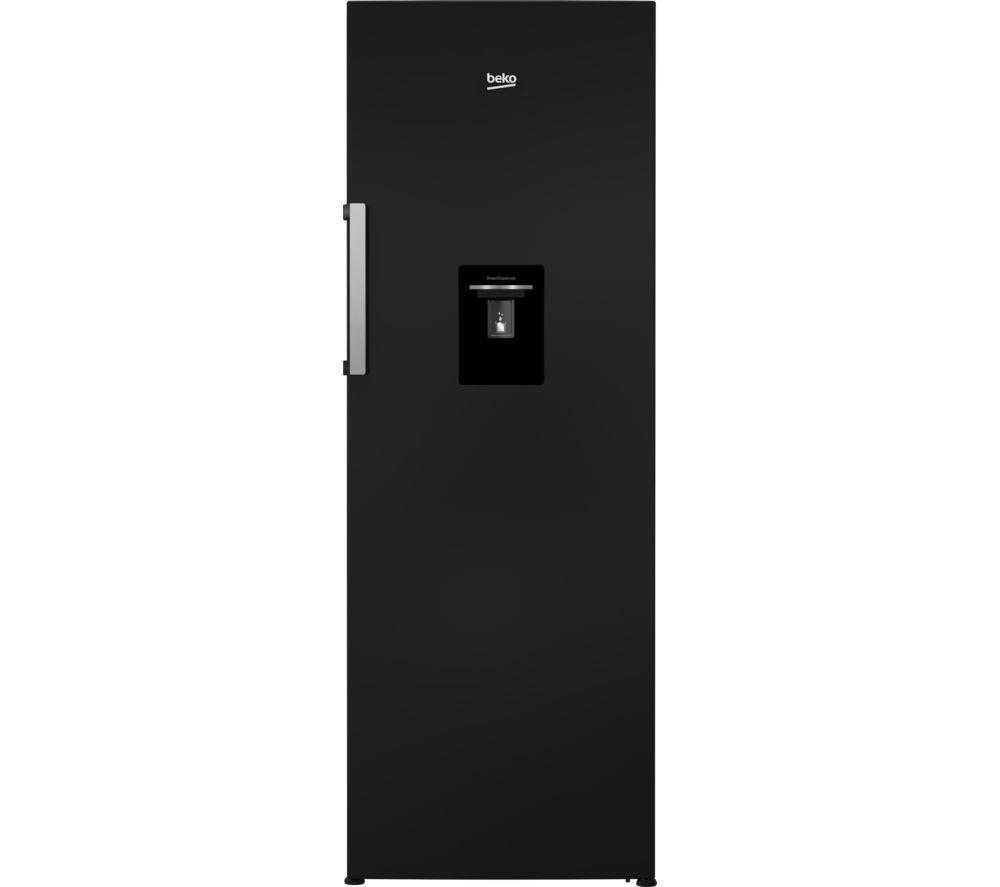 BEKO LSP3671DB Tall Fridge - Black, Black