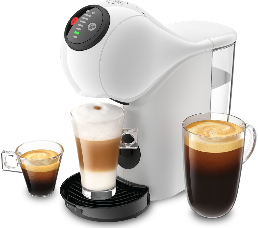 Image of DOLCE GUSTO by Krups Genio S KP240140 Coffee Machine - White, White
