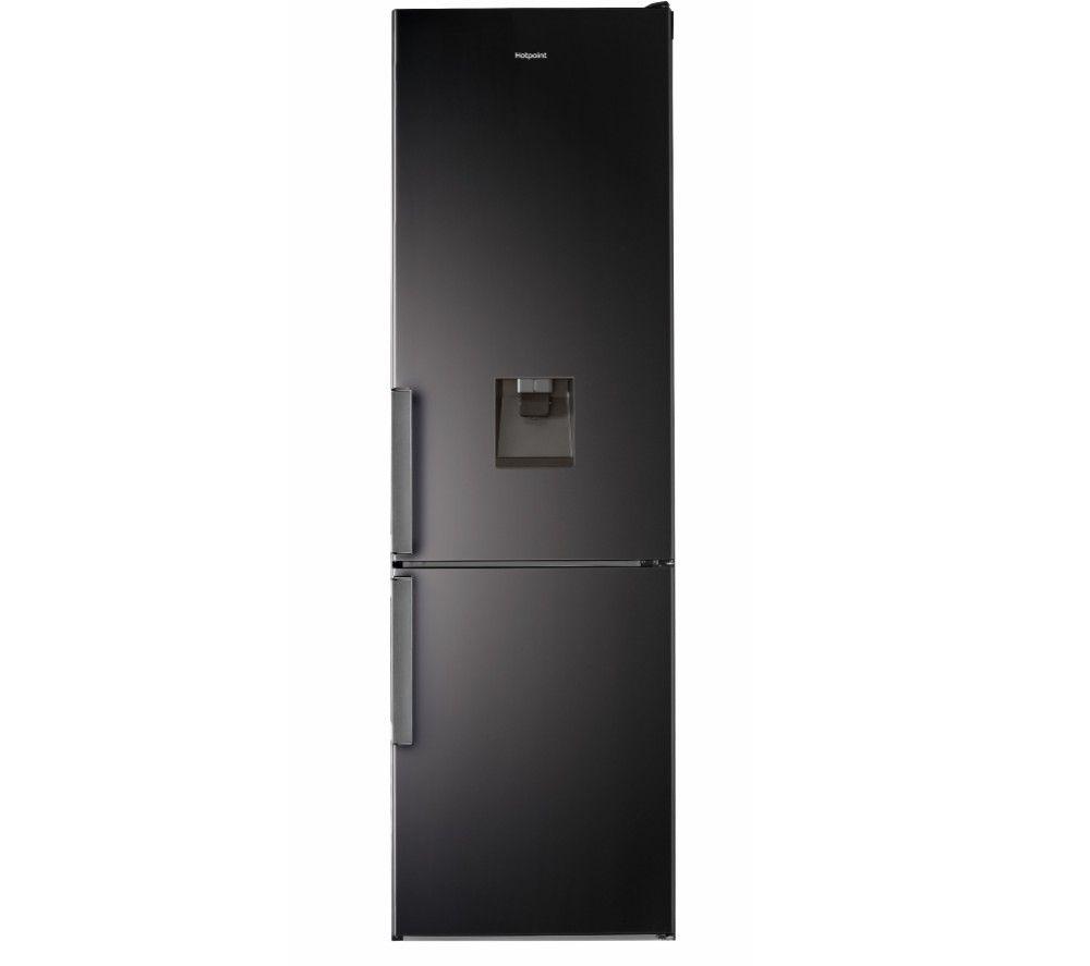 HOTPOINT Day1 H7T 911 A KSH Aqua 70/30 Fridge Freezer - Black