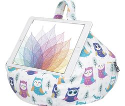 Bean Bag Tablet Stand - Owl