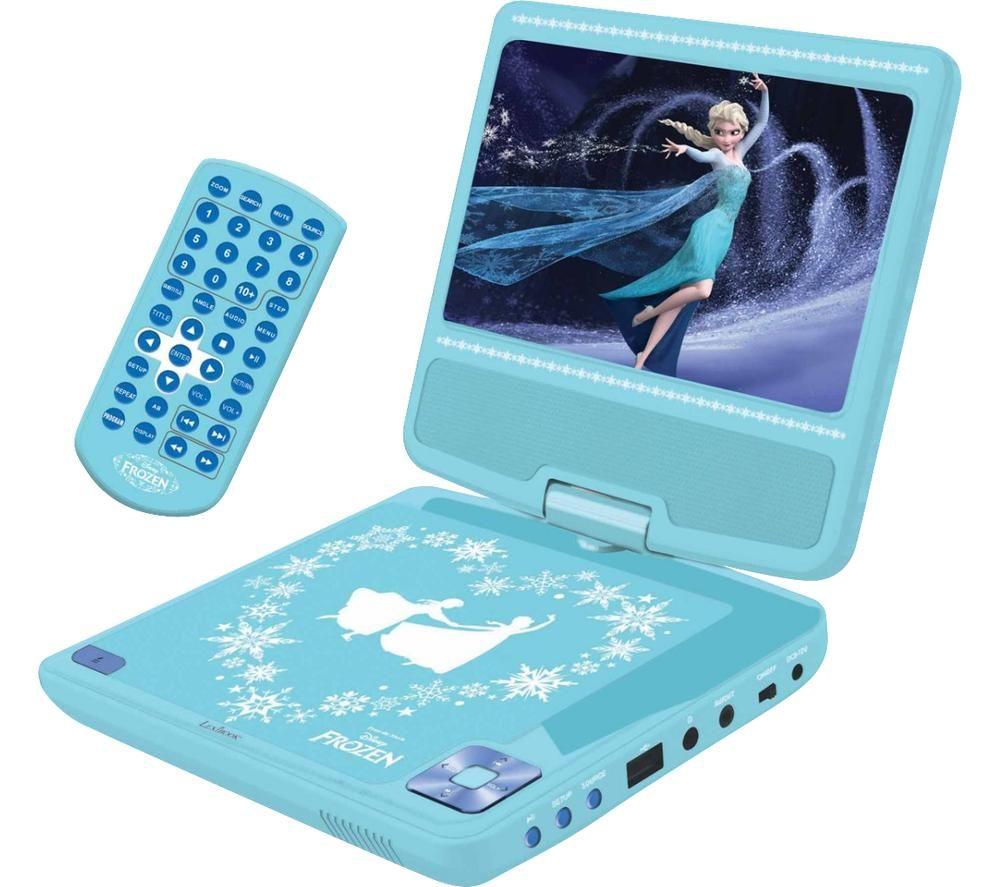 LEXIBOOK DVDP6FZ Portable DVD Player - Frozen